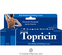Topricin Pain Relief & Healing Cream 2 OZ