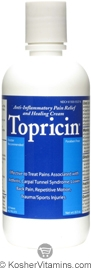 Topricin Pain Relief & Healing Cream 8 OZ