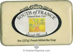 South of France French Milled Bar Soap Sweet Almond 8 OZ