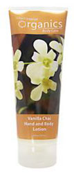 Desert Essence Hand & Body Lotion Spicy Vanilla Chai 8 OZ