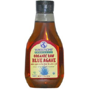 Wholesome Sweeteners Kosher Organic Raw Blue Agave Sweetener 23.5 OZ