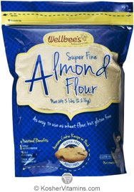 Wellbee's Kosher Super Fine Almond Flour 5 LB