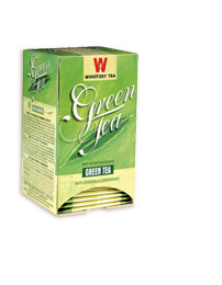 Wissotzky Tea Green Tea with Ginger & Lemongrass - Kosher for Passover 20 Tea Bags