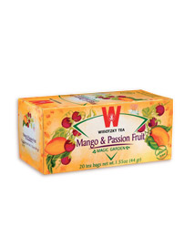 Wissotzky Tea Kosher Mango and Passion Fruit 20 Bags