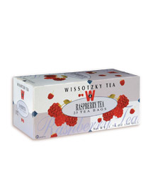 Wissotzky Tea Raspberry Tea - Kosher for Passover 25 Tea Bags