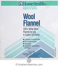 Home Health Wool Flannel Large 18x24 1 Pack