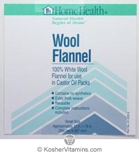 Home Health Wool Flannel Small 18x12 1 Pack