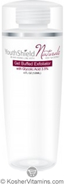 Native Remedies Youthshield Get Buffed Exfoliator with Glycolic Acid 4 OZ