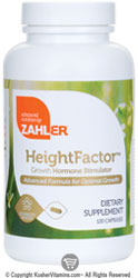 Zahlers Kosher Height Factor 120 Capsules