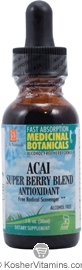 L.A. Naturals Kosher Acai Super Berry Blend Antioxidant 1 OZ