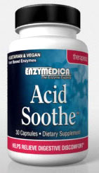 Enzymedica Acid Soothe 30 Capsules