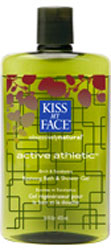 Kiss My Face Bath & Shower Gel Athletic 16 OZ