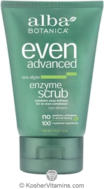 Alba Botanica Even Advanced Sea Algae Enzyme Scrub 4 OZ