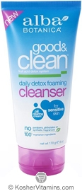 Alba Botanica Good & Clean Daily Detox Foaming Cleanser 6 OZ