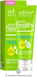 Alba Botanica Good & Healthy Broad Spectrum SPF 15 Moisturizer 1.7 OZ