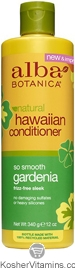 Alba Botanica Hawaiian Conditioner So Smooth Gardenia 12 OZ