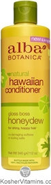 Alba Botanica Hawaiian Conditioner Gloss Boss Honeydew 12 OZ