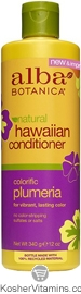 Alba Botanica Hawaiian Conditioner Colorific Plumeria 12 OZ