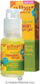 Alba Botanica Hawaiian Eye Gel Revitalizing Green Tea 1 OZ