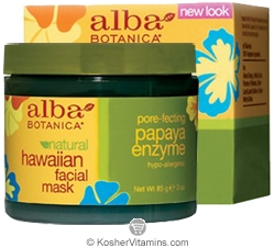 Alba Botanica Hawaiian Facial Mask Pore-fecting Papaya Enzyme 3 OZ