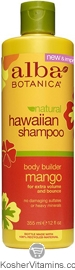 Alba Botanica Hawaiian Shampoo Body Builder Mango 12 OZ