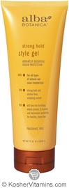 Alba Botanica Strong Hold Style Gel 7 OZ