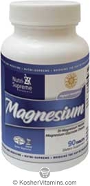 Nutri-Supreme Research Kosher Magnesium Malate/Glycinate Chelate 90 Tablets