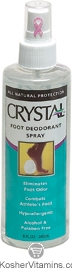 Crystal Foot Deodorant Spray 8 OZ