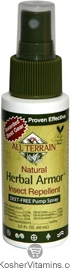All Terrain Herbal Armor Natural Insect Repellent Spray 2 OZ