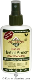 All Terrain Herbal Armor Natural Insect Repellent Spray 4 OZ