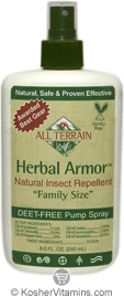 All Terrain Herbal Armor Natural Insect Repellent Spray Family Size 8 OZ