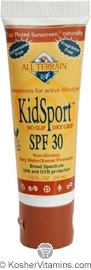 All Terrain KidSport Sunscreen Broad Spectrum SPF30 Lotion 1 OZ