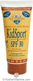 All Terrain KidSport Sunscreen Broad Spectrum SPF30 Lotion 3 OZ