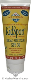 All Terrain KidSport Sunscreen Broad Spectrum SPF30 Lotion 6 OZ