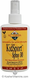 All Terrain KidSport Sunscreen Broad Spectrum SPF30 Spray  3 OZ