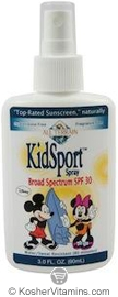 All Terrain Mickey & Minnie KidSport Sunscreen Broad Spectrum SPF30 Spray 3 OZ