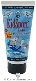 All Terrain Phineas & Ferb KidSport Sunscreen Broad Spectrum SPF30 Lotion 3 OZ