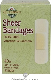 All Terrain Sheer Bandages 3in. x 3/4in. 40 Count