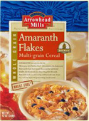 Arrowhead Mills Kosher Organic Amaranth Flakes Multi-Grain Cereal Wheat Free 1 Box