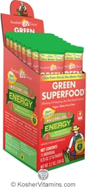 Amazing Grass Kosher Green Superfood Energy Drink Powder Watermelon 15 Packets