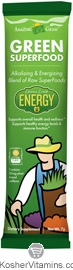 Amazing Grass Kosher Green Superfood Energy Drink Powder Lemon Lime - Free with a $49 Purchase 1 Packet