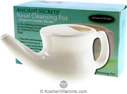 Ancient Secrets Nasal Cleansing Ceramic Pot 1 Pot