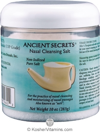 Ancient Secrets Nasal Cleansing Salt 10 OZ