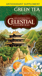 Celestial Seasonings Kosher Antioxidant Green Tea 20 Bag