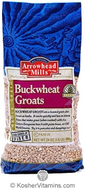 Arrowhead Mills Kosher Organic Buckwheat Groats 24 OZ