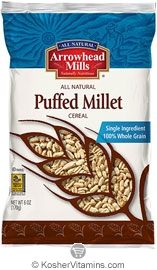 Arrowhead Mills Kosher Puffed Millet Cereal 6 OZ