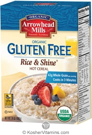 Arrowhead Mills Kosher Organic Rice & Shine Cereal 24 OZ