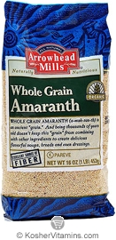 Arrowhead Mills Kosher Organic Whole Grain Amaranth 16 OZ