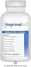 Arthur Andrew Medical Kosher Neprinol AFD 90 Pharmaceutical Grade Capsules