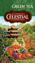 Celestial Seasonings Kosher Authentic Green Tea 20 Bags